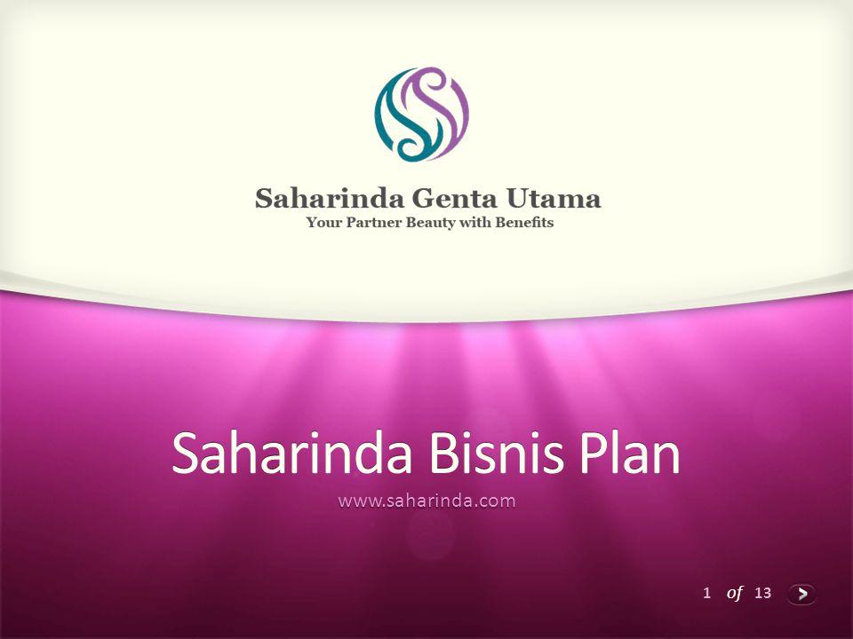 Saharinda Bisnis Plan www.saharinda.com