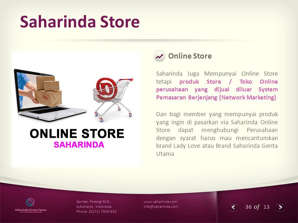 Saharinda Store