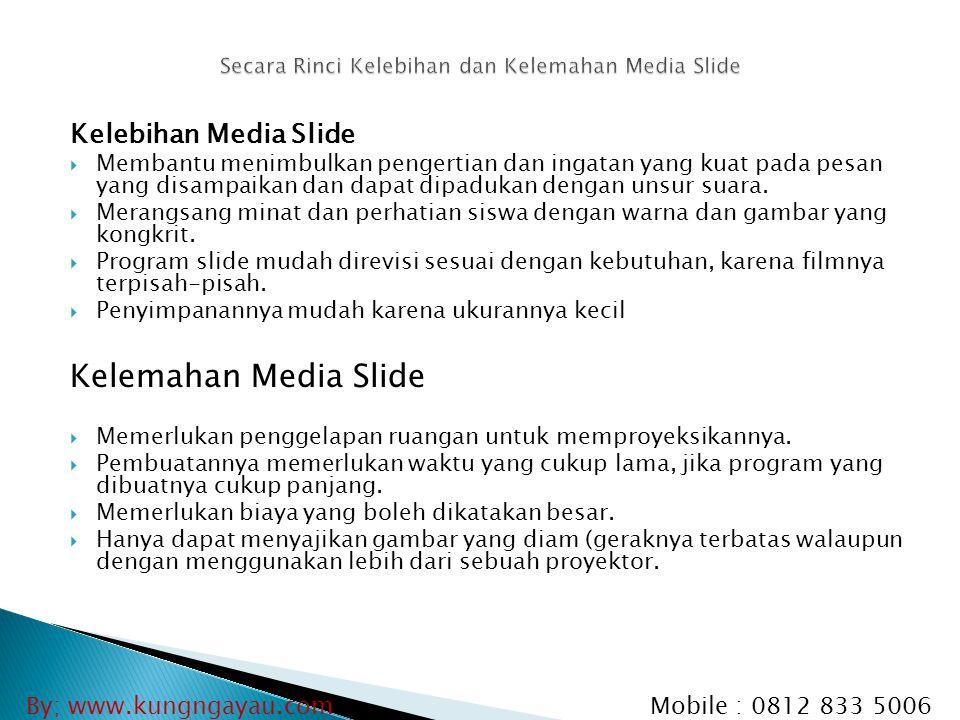 Secara Rinci Kelebihan dan Kelemahan Media Slide