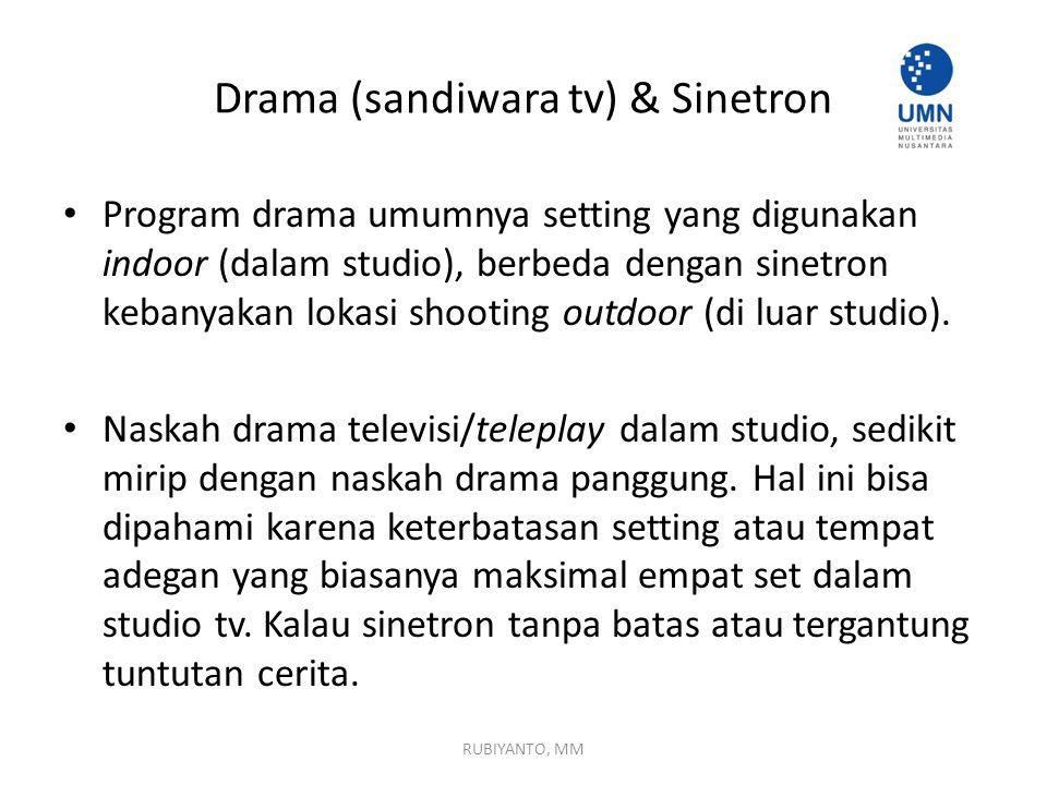 Drama (sandiwara tv) & Sinetron