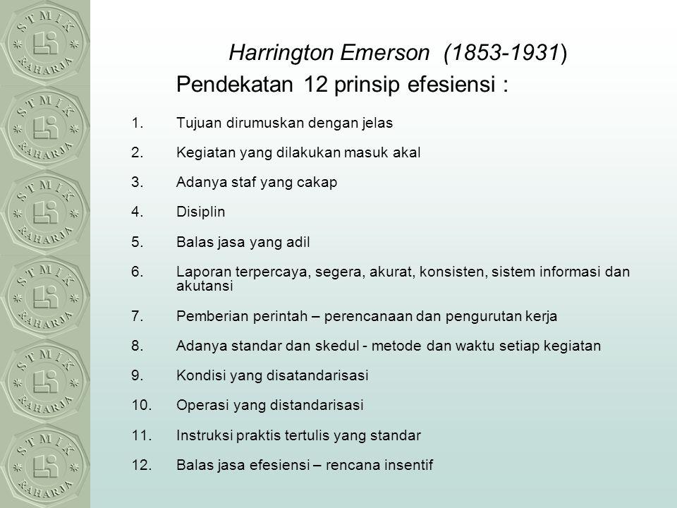 Harrington Emerson (1853-1931)