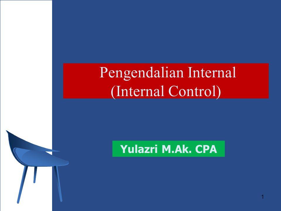 Pengendalian Internal (Internal Control)