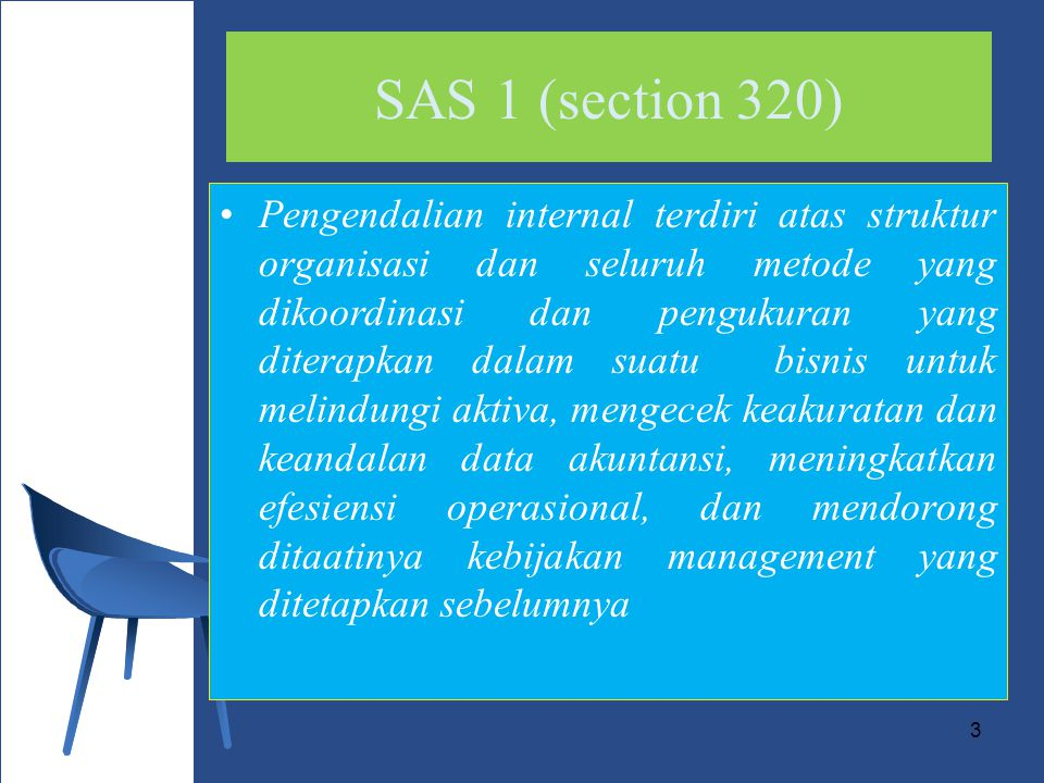 SAS 1 (section 320)