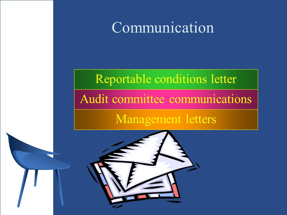 Communication Reportable conditions letter
