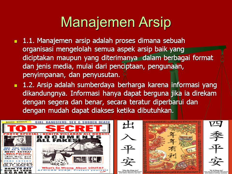 Manajemen Arsip