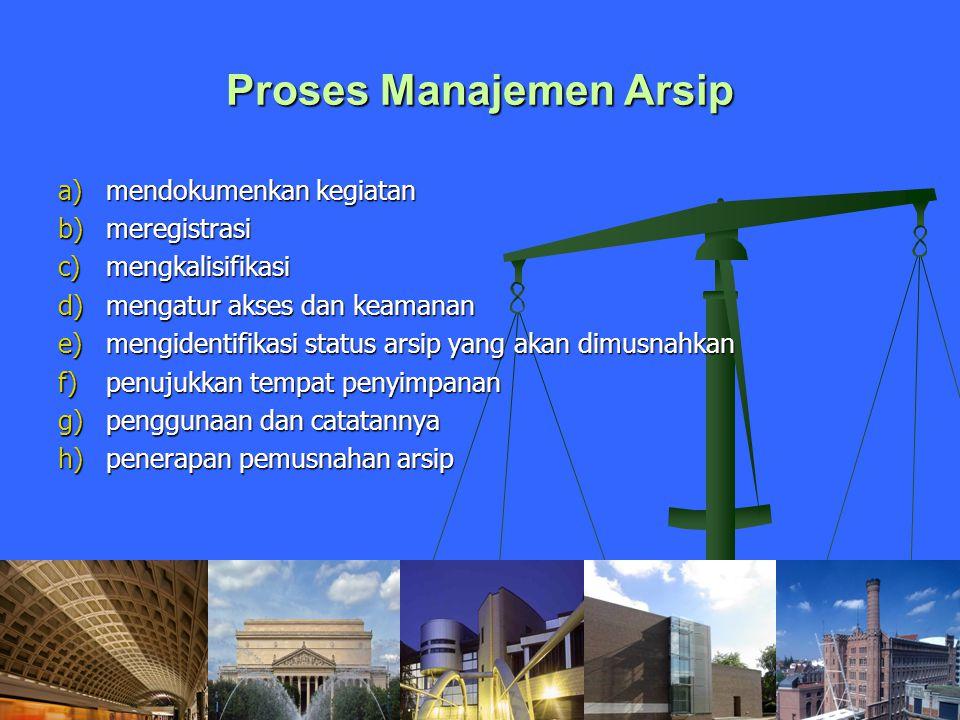 Proses Manajemen Arsip
