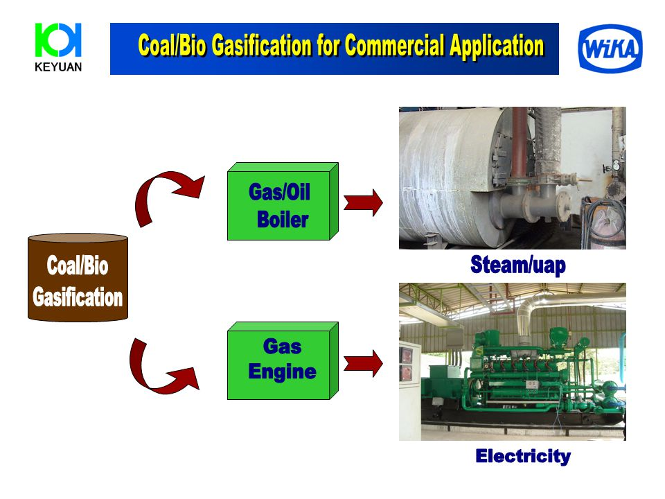 Coal/Bio Gasification for Commercial Application