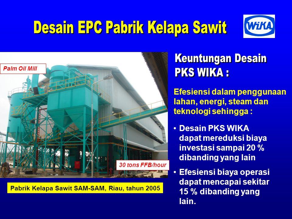 Desain EPC Pabrik Kelapa Sawit