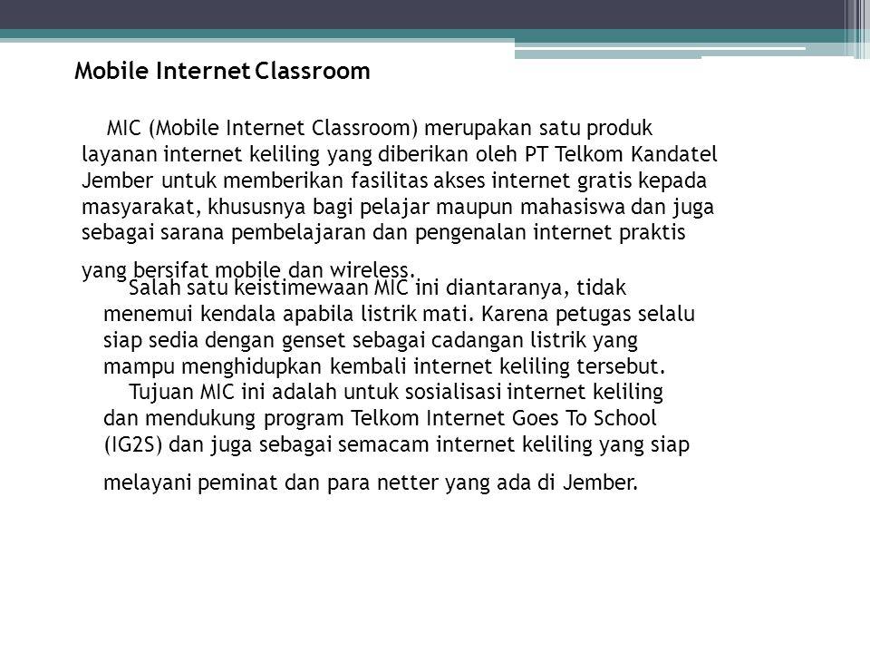 Mobile Internet Classroom