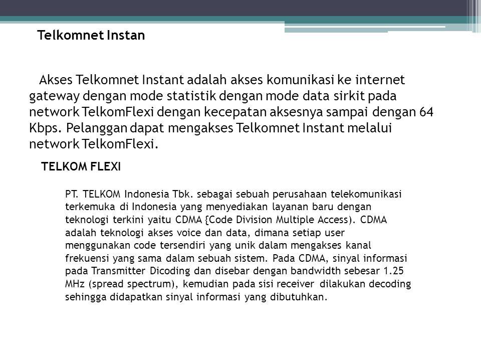 Telkomnet Instan