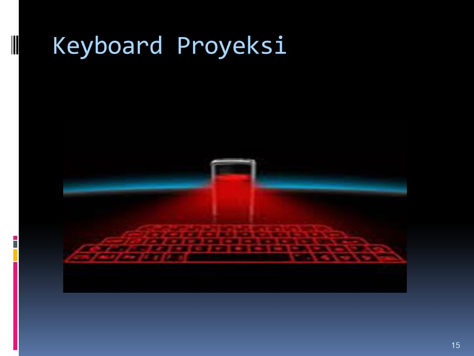 Keyboard Proyeksi