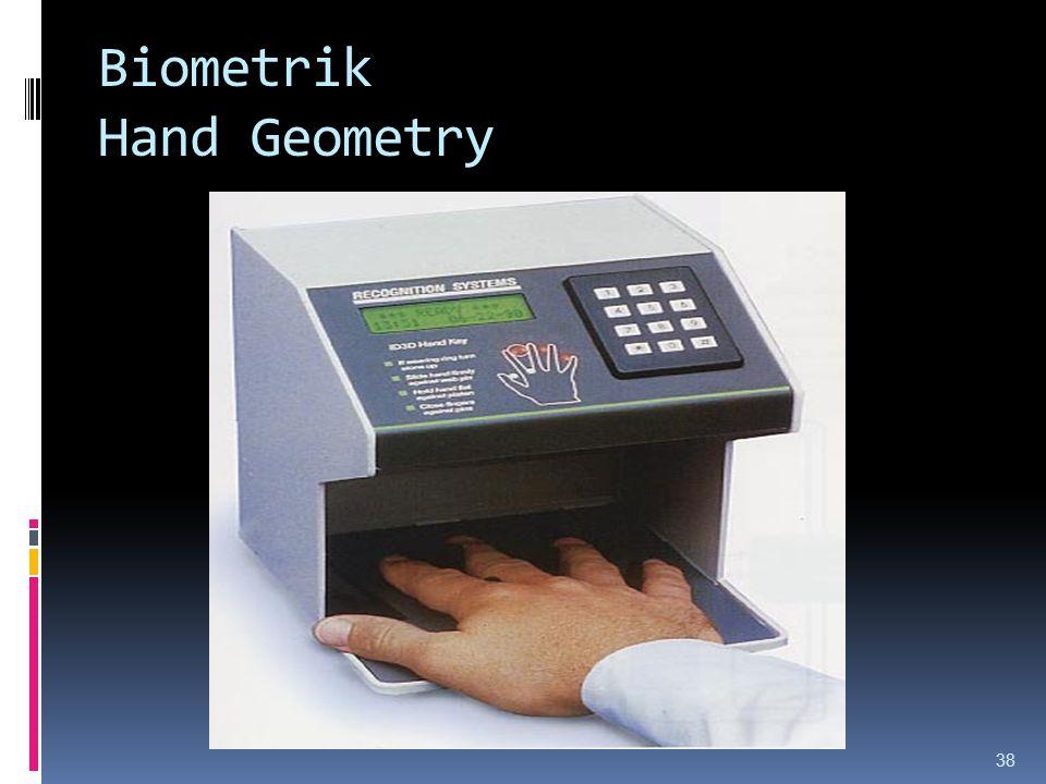 Biometrik Hand Geometry