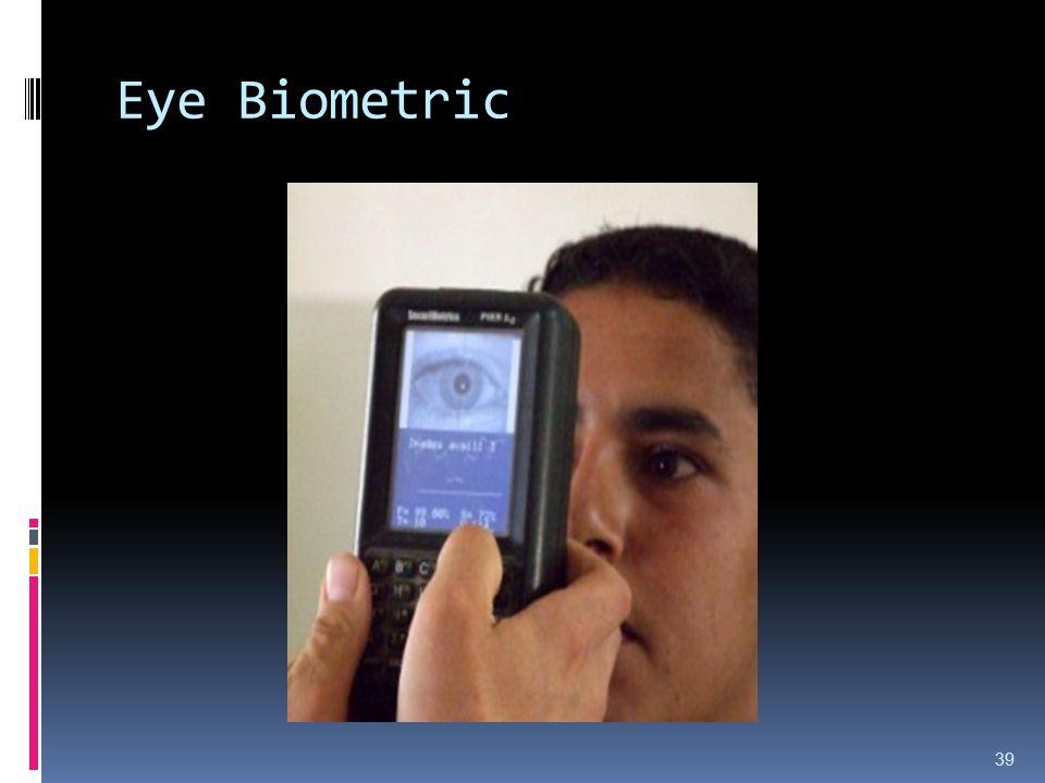 Eye Biometric