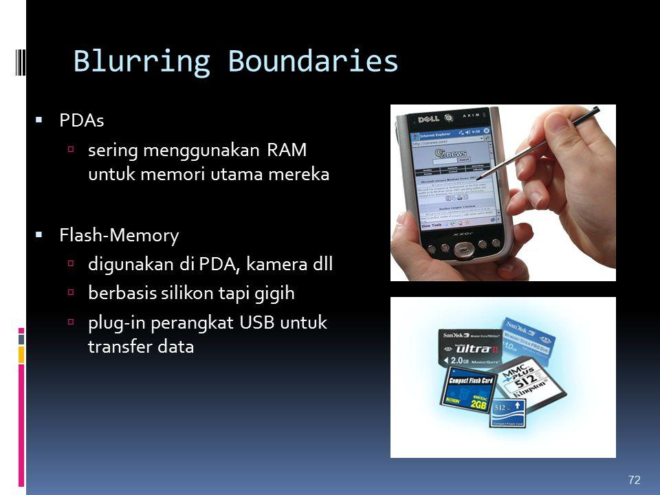 Blurring Boundaries PDAs