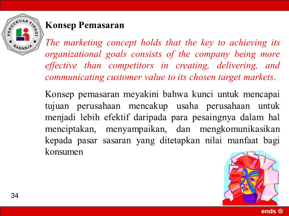 Konsep Pemasaran