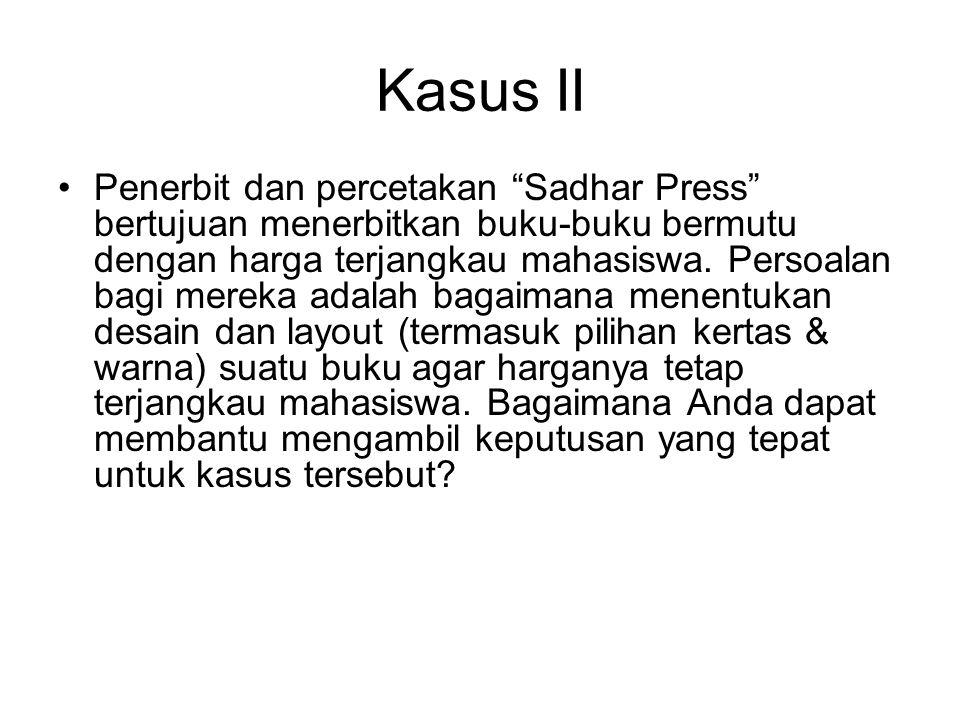 Kasus II