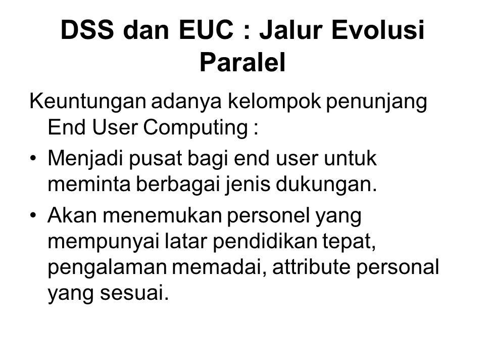 DSS dan EUC : Jalur Evolusi Paralel