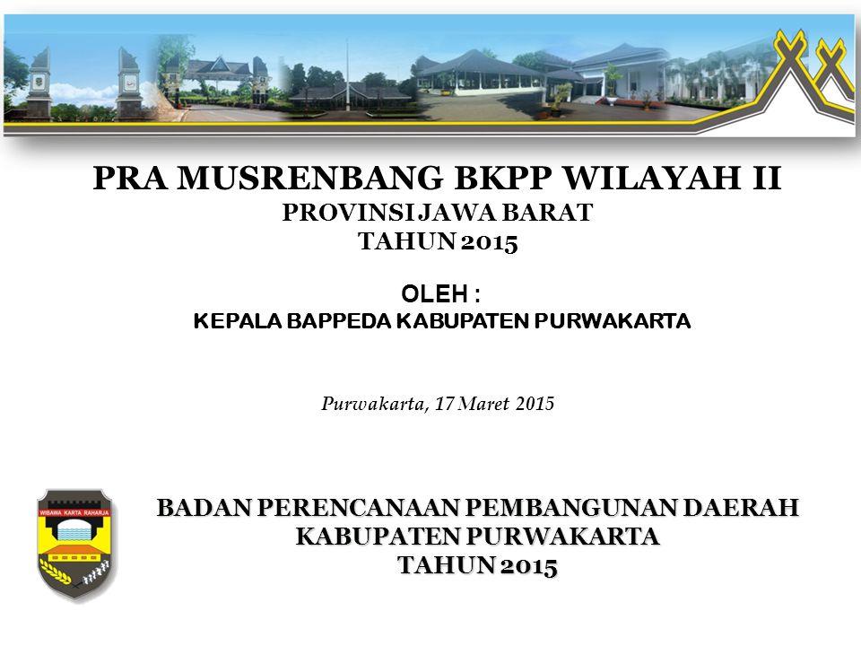 PRA MUSRENBANG BKPP WILAYAH II PROVINSI JAWA BARAT TAHUN 2015