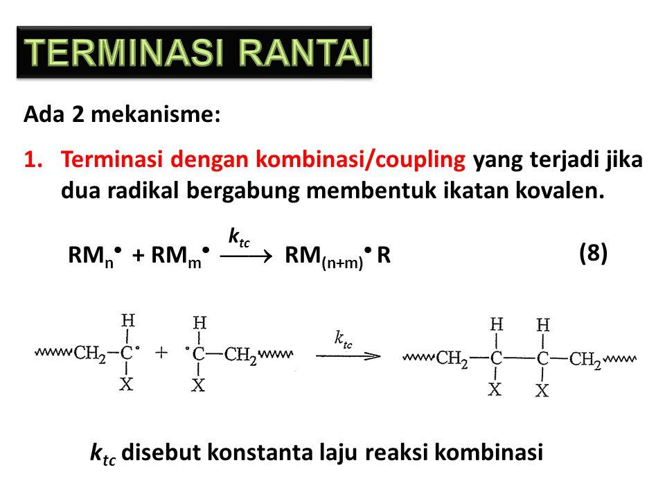 TERMINASI RANTAI Ada 2 mekanisme: