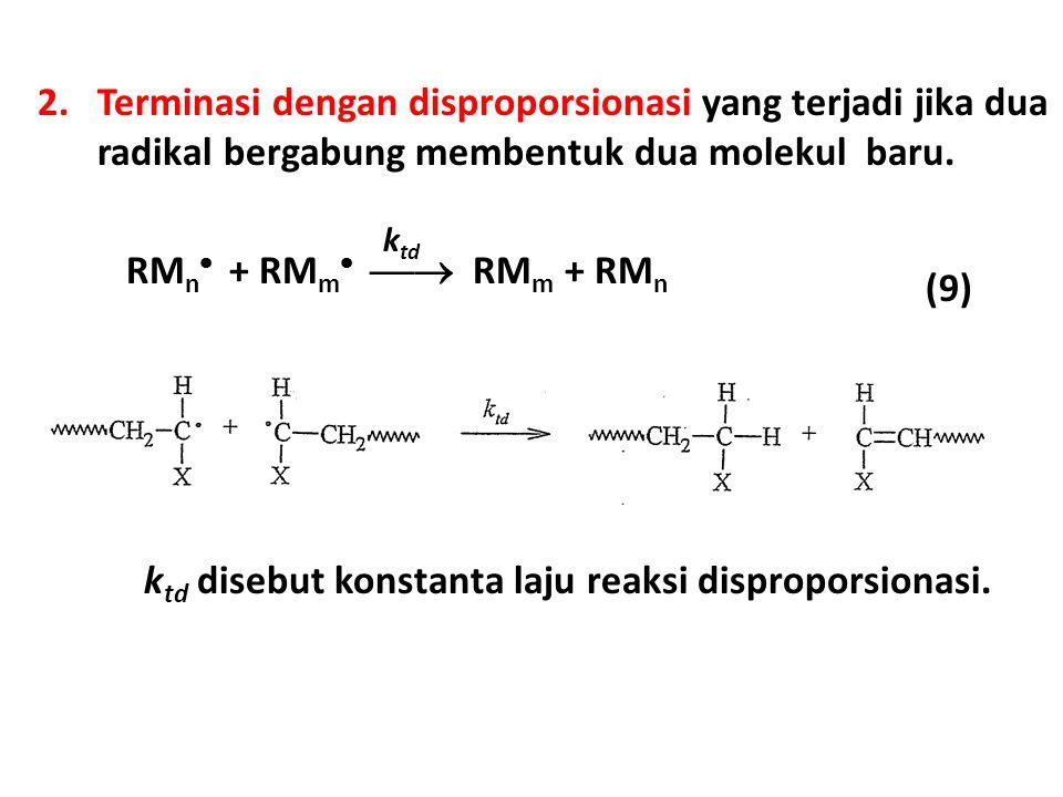 ktd disebut konstanta laju reaksi disproporsionasi.