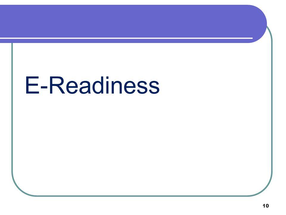 E-Readiness