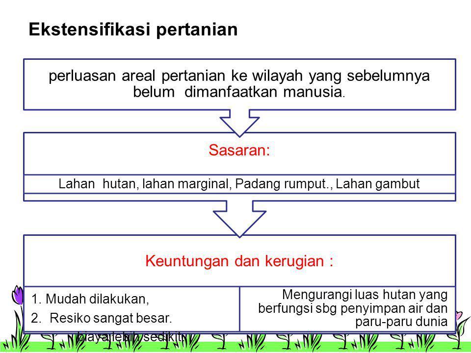 Ekstensifikasi pertanian