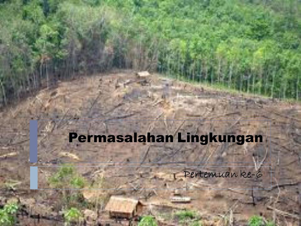 Permasalahan Lingkungan