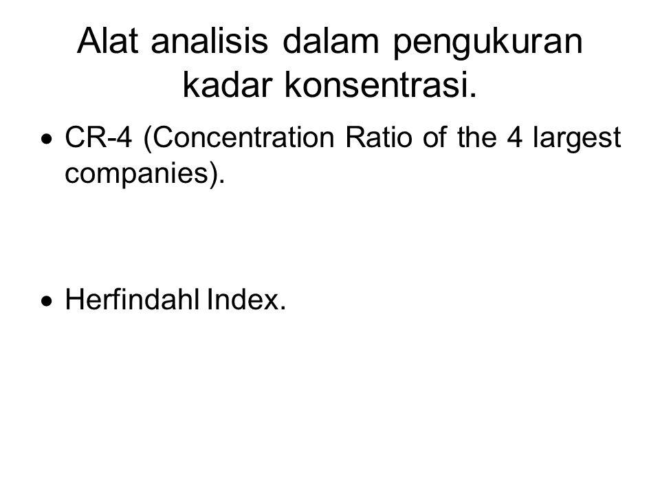 Alat analisis dalam pengukuran kadar konsentrasi.