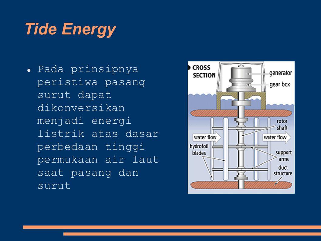 Tide Energy