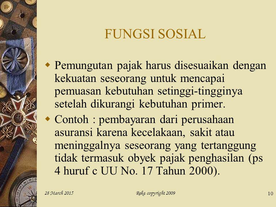 FUNGSI SOSIAL