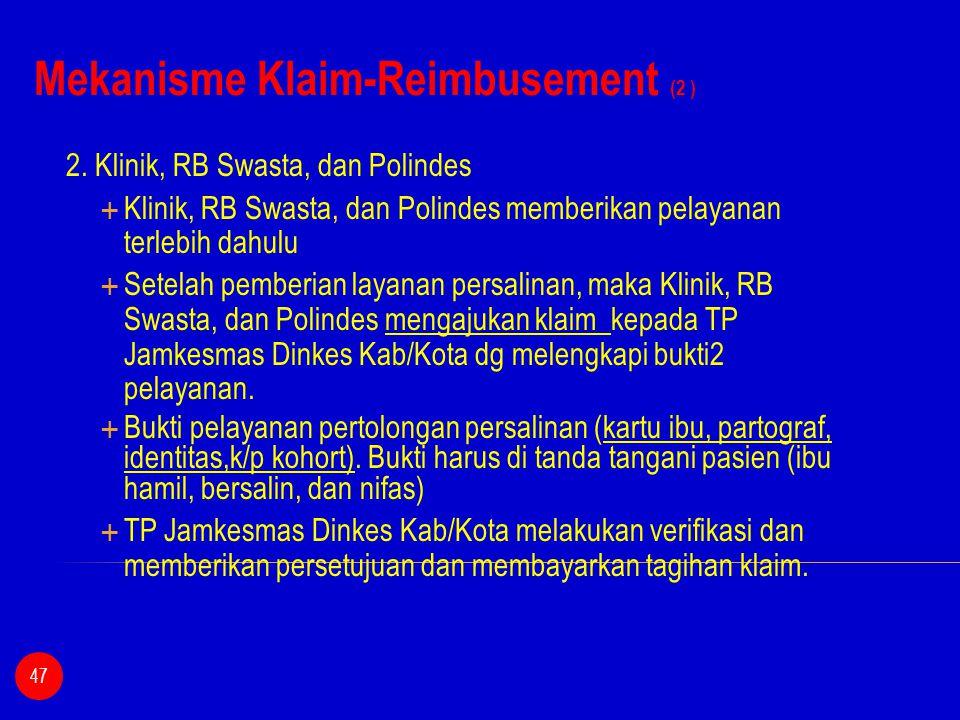 Mekanisme Klaim-Reimbusement (2 )
