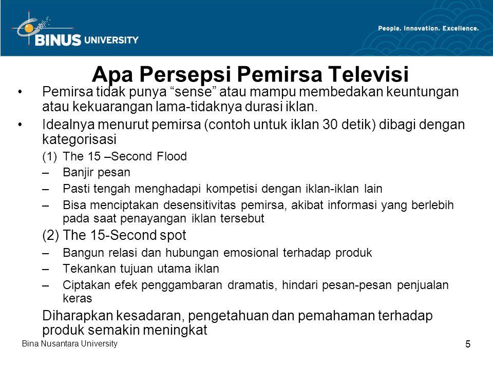 Apa Persepsi Pemirsa Televisi