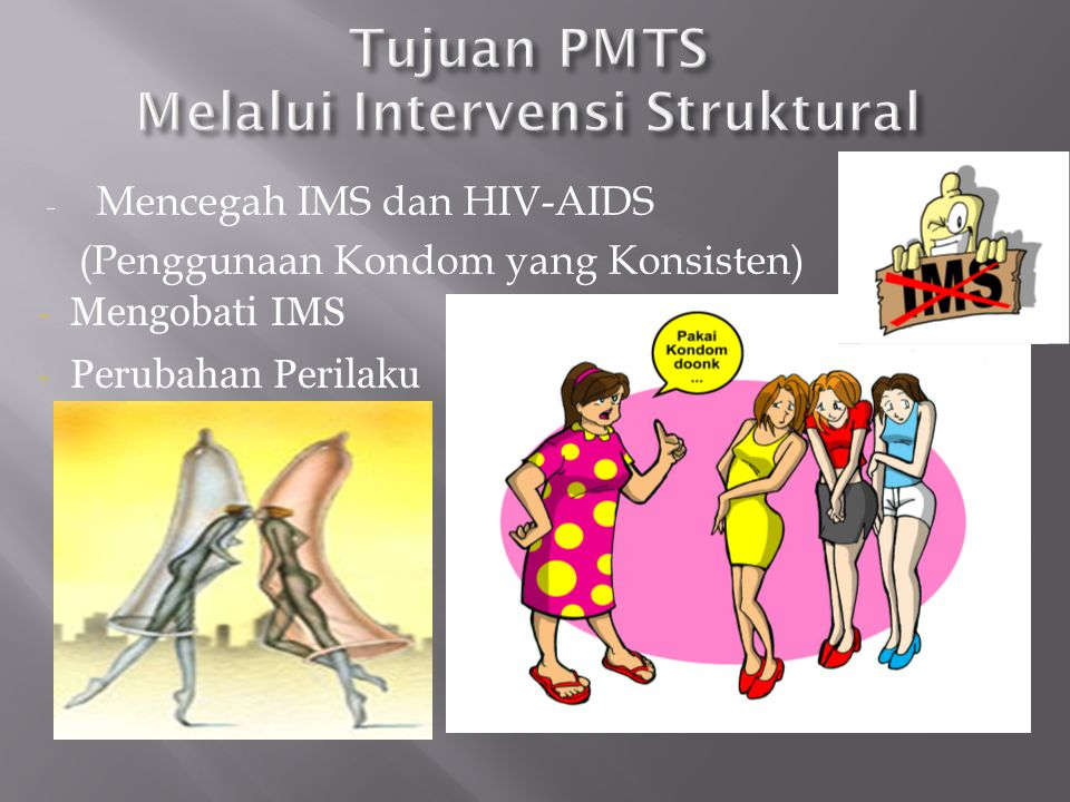 Tujuan PMTS Melalui Intervensi Struktural