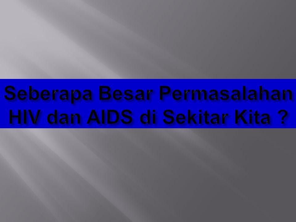 Seberapa Besar Permasalahan HIV dan AIDS di Sekitar Kita
