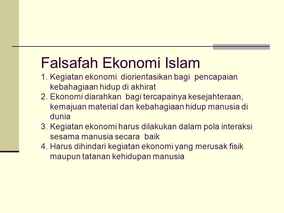 Falsafah Ekonomi Islam 1