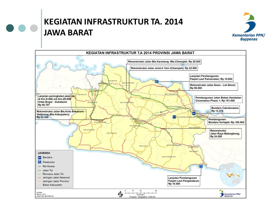 KEGIATAN INFRASTRUKTUR TA. 2014 JAWA BARAT