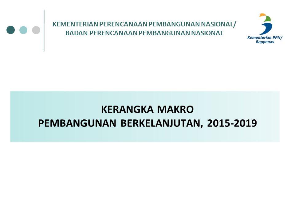 KERANGKA MAKRO PEMBANGUNAN BERKELANJUTAN, 2015-2019