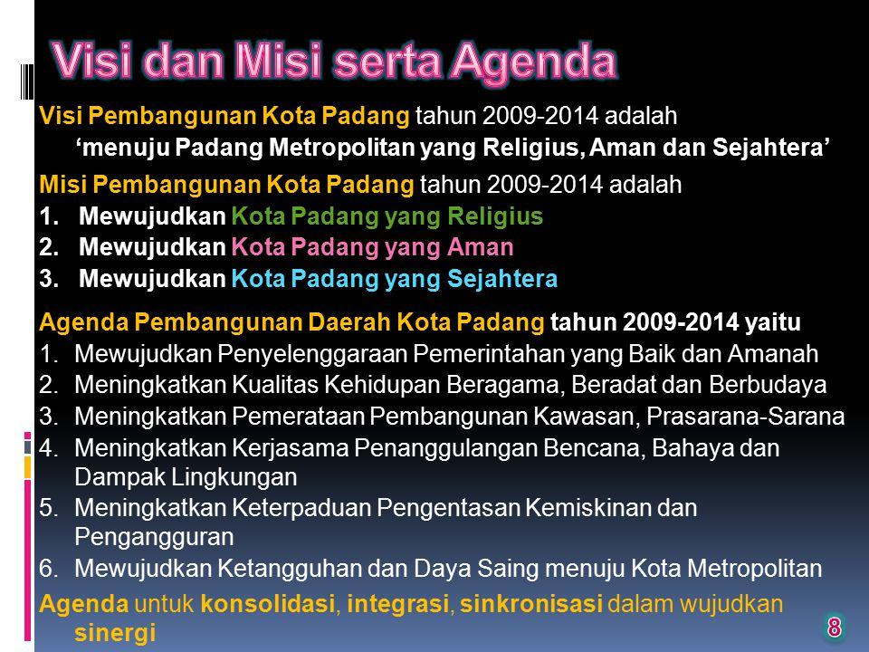 Visi dan Misi serta Agenda