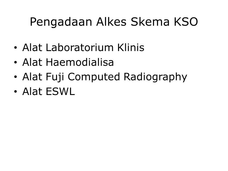 Pengadaan Alkes Skema KSO