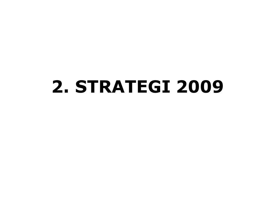 2. STRATEGI 2009