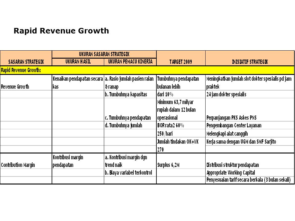 Rapid Revenue Growth