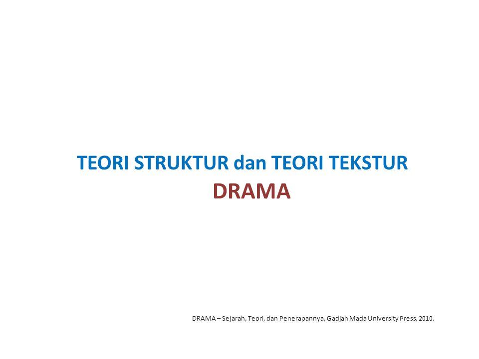DRAMA TEORI STRUKTUR dan TEORI TEKSTUR