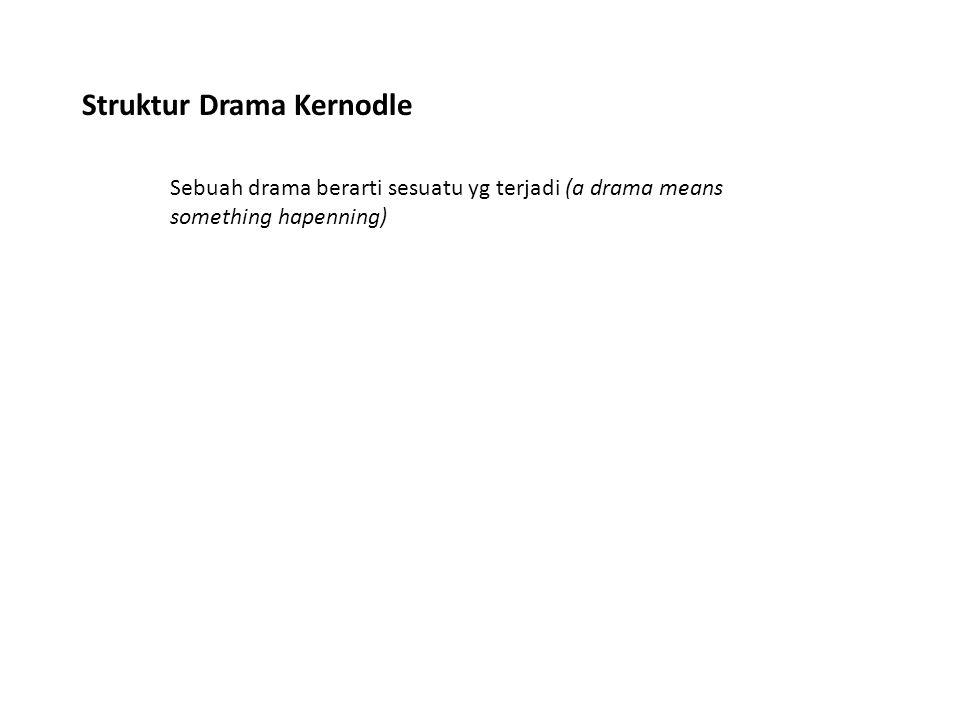 Struktur Drama Kernodle