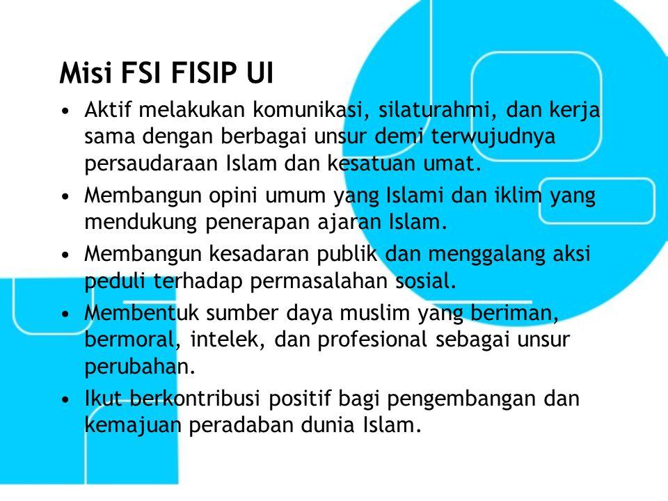 Misi FSI FISIP UI