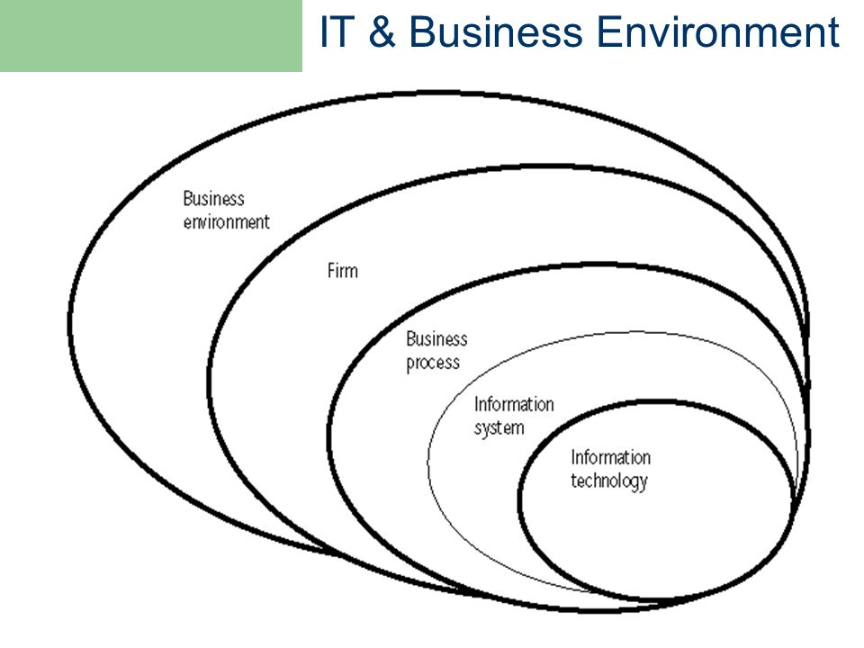 IT & Business Environment