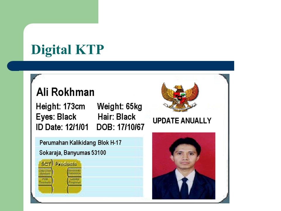 Digital KTP