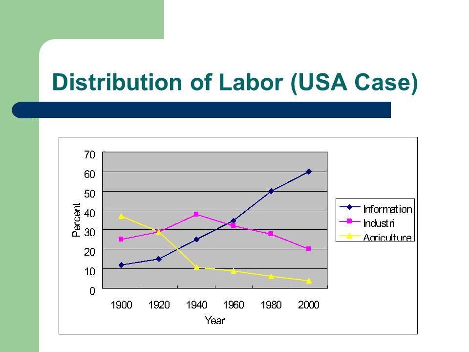 Distribution of Labor (USA Case)