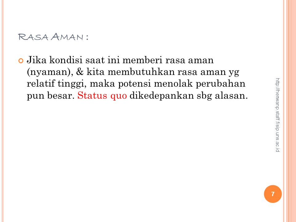 Rasa Aman :