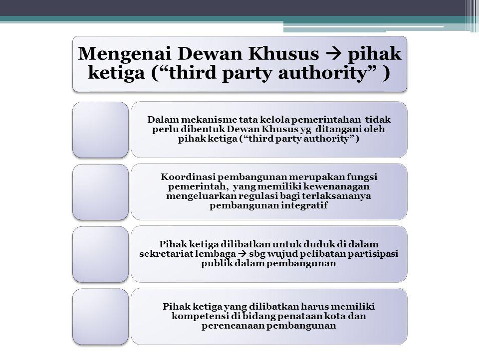 Mengenai Dewan Khusus  pihak ketiga ( third party authority )