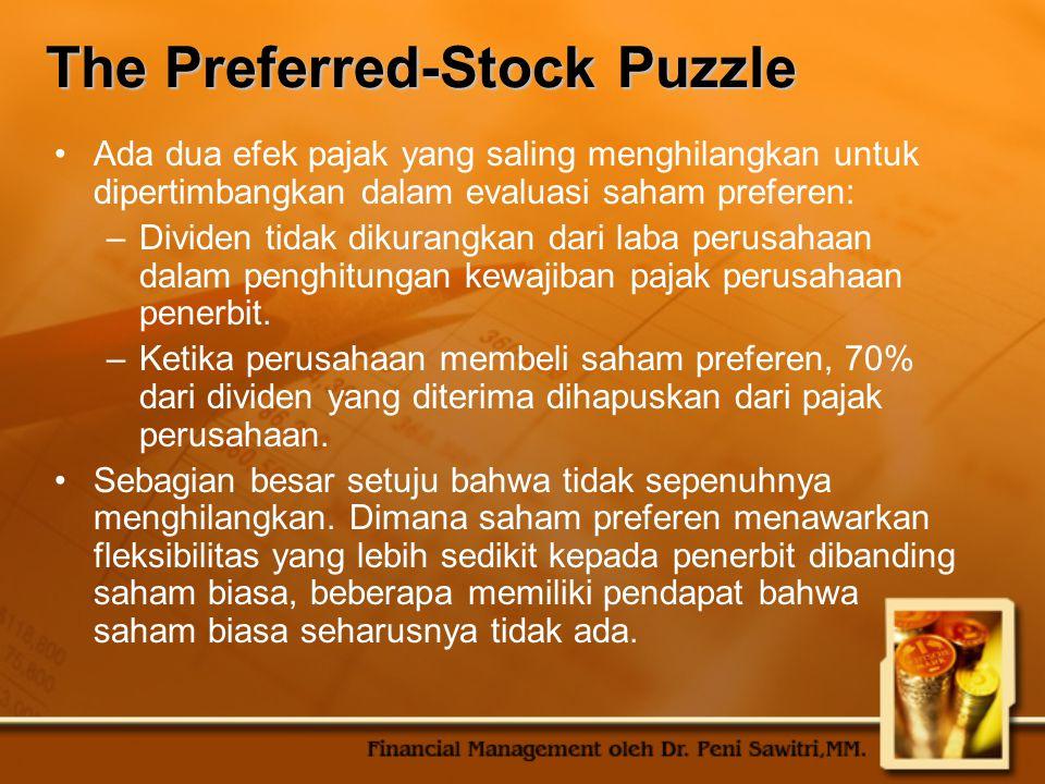 The Preferred-Stock Puzzle